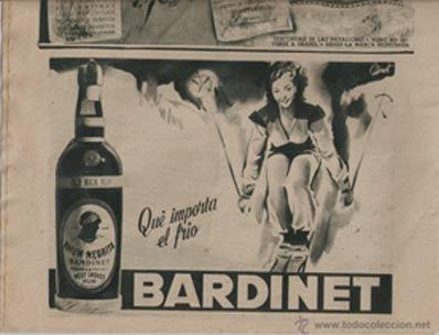 Cartel Bardinet - Qué frío