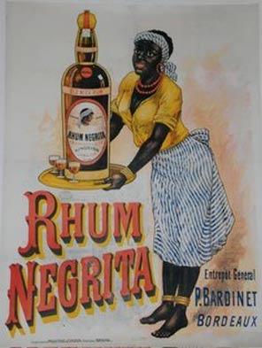Rhum Negrita - Cartel