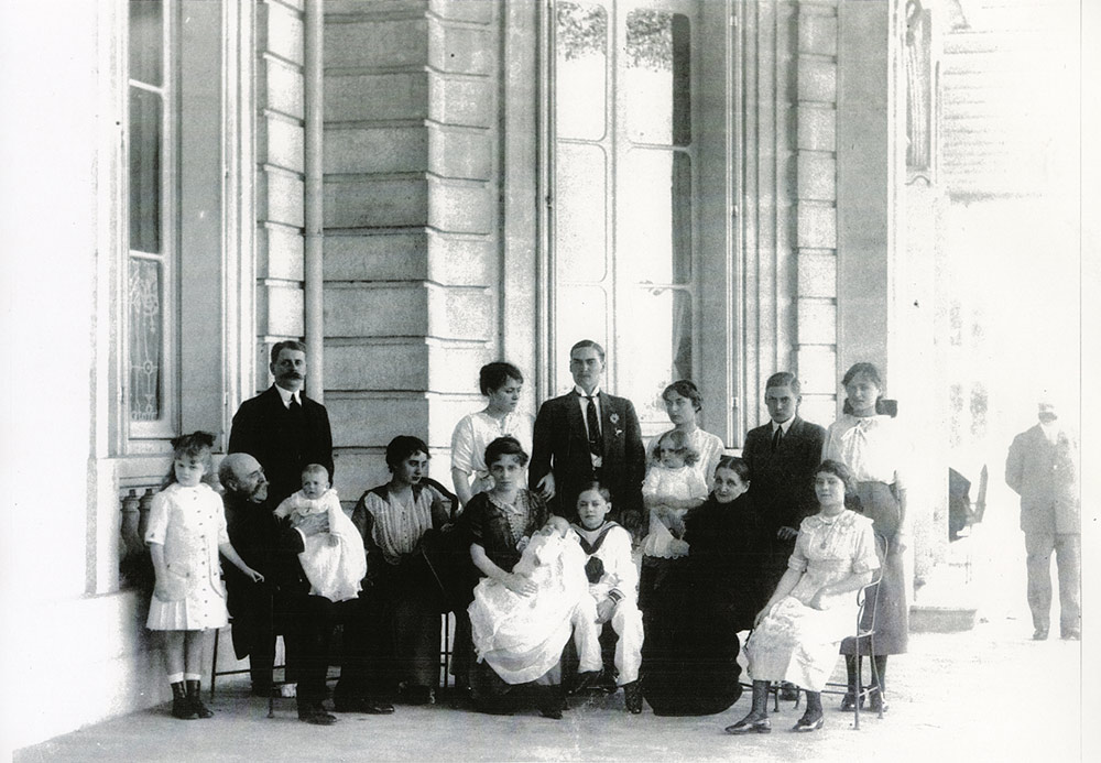 La família Bardinet en 1914